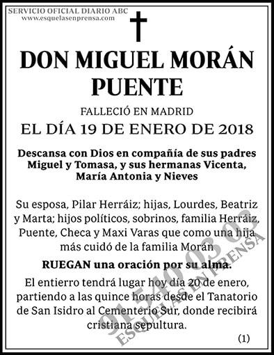 Miguel Morán Puente